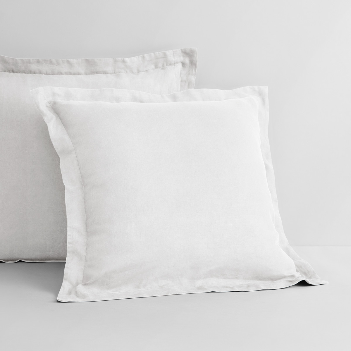 Sheridan Abbotson Linen European Pillowcase White