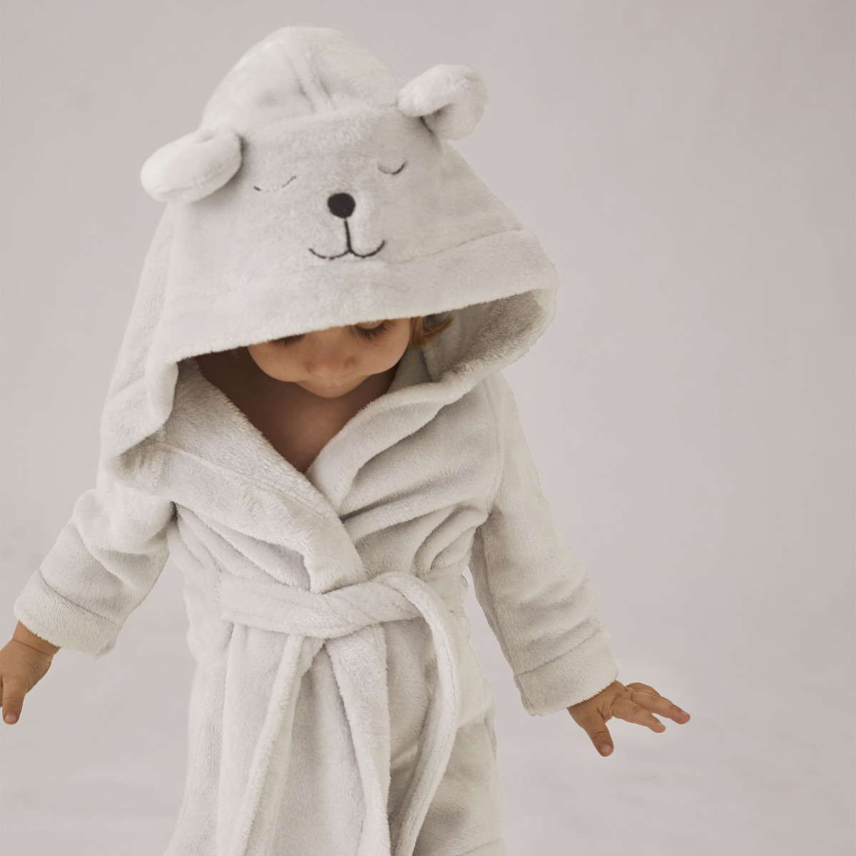 hugsie baby bathrobe