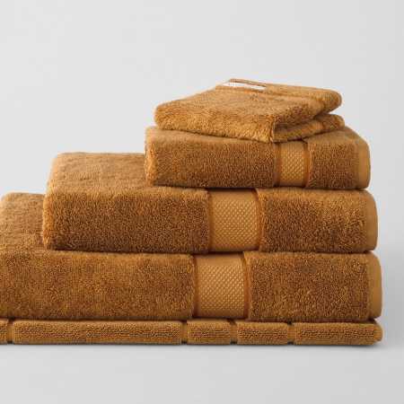 Sheridan Luxury Egyptian Towel Collection Tobacco