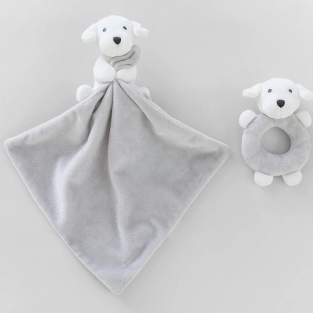 Dillie Comforter &Teething Toy Gift Set