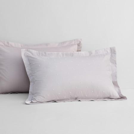Sheridan Wykeham Pillowcase Pair Driftwood