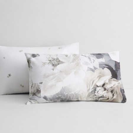 Sheridan Nevan Pillowcase Pair Smokey-Quartz