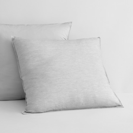Sheridan Harlow European Pillowcase Grey Marl