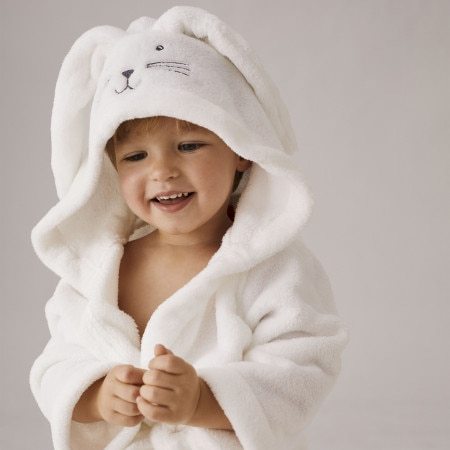 Bunnie Hooded Baby Bathrobe