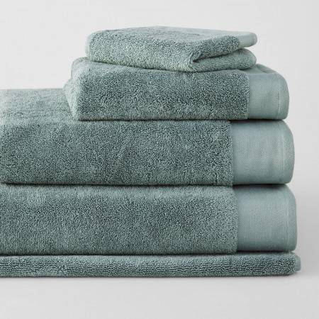 Sheridan Luxury Retreat Towel Collection Sea Green