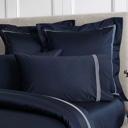 Sheridan 1200Tc Palais Lux Pillowcase Pair Midnight