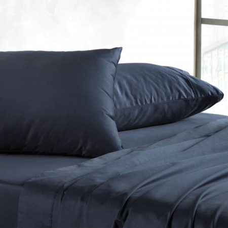 Sheridan 400tc soft sateen sheet set midnight