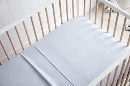 Organic Cotton Olly Baby Cot Sheet