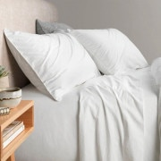 Sheridan Nashe Sheet Set White