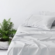 Sheridan 400Tc Cotton Sateen Sheet Set Frost Grey