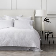 Sheridan Delon Quilt Cover White