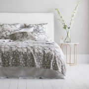 Sheridan Faulkner Pillowcase Pair Frost Grey