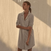 Sheridan Trinitie Womens Nightie Grey Marl