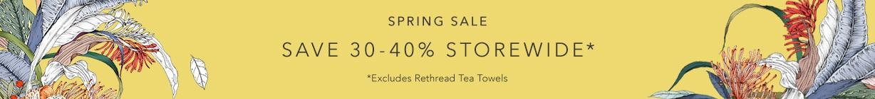 The Spring Sale | 30-40% off Storewide