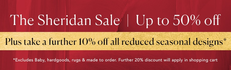 Up to 50% Off Plus a further 20%