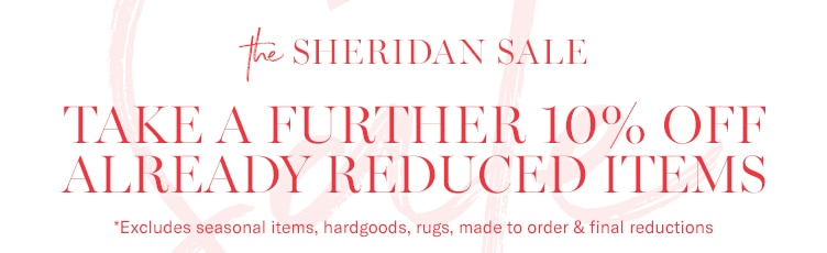 Take a Further 10% Off Already Reduced Items