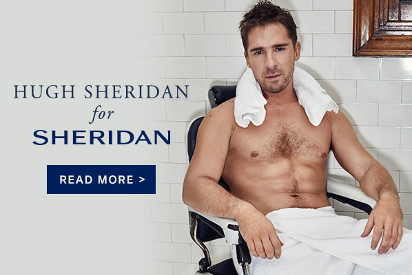 Hugh Sheridan for Towel Man