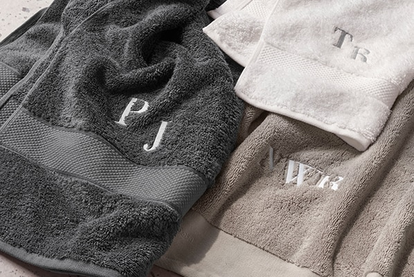 Monogram Towels