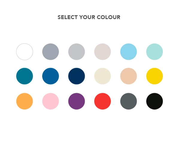 Select your colour