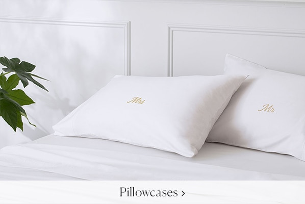 Monogram Pillowcases