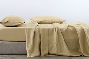 Abbotson Linen Fitted Sheet