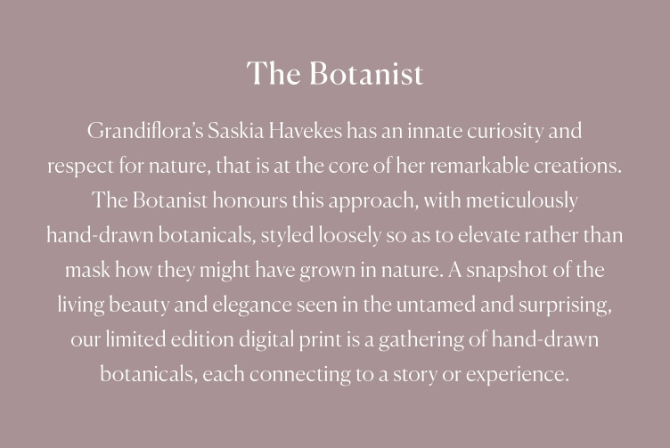 The Botanist Grandiflora Euopean Pillowcase